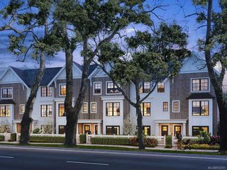 Photo 1: TH4 1810 Kings Rd in Victoria: Vi Jubilee Row/Townhouse for sale : MLS®# 812751