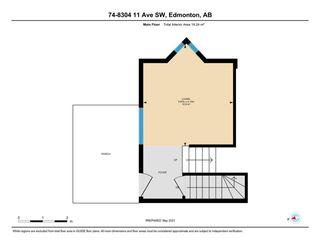 Photo 47: 75 8304 11 Avenue in Edmonton: Zone 53 Townhouse for sale : MLS®# E4241990