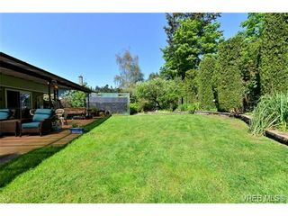 Photo 20: 4806 Sunnygrove Pl in VICTORIA: SE Sunnymead House for sale (Saanich East)  : MLS®# 728851
