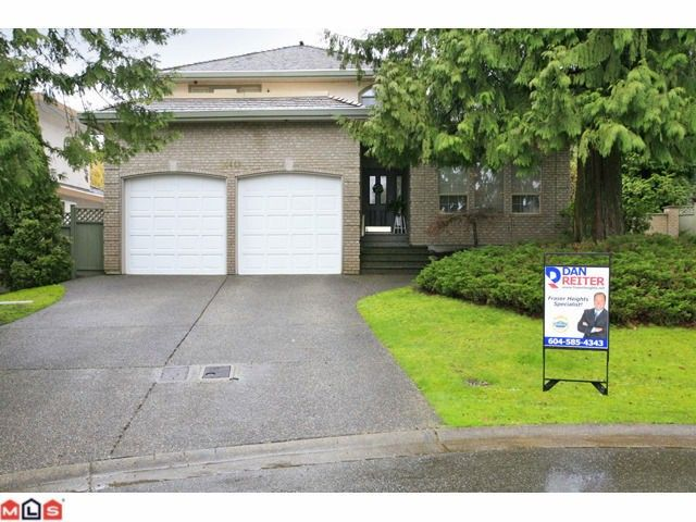 "Main Photo: 10469 WILLOW GR in Surrey: Fraser Heights House for sale in ""GLENWOOD ESTATES"" (North Surrey)  : MLS®# F1108336"