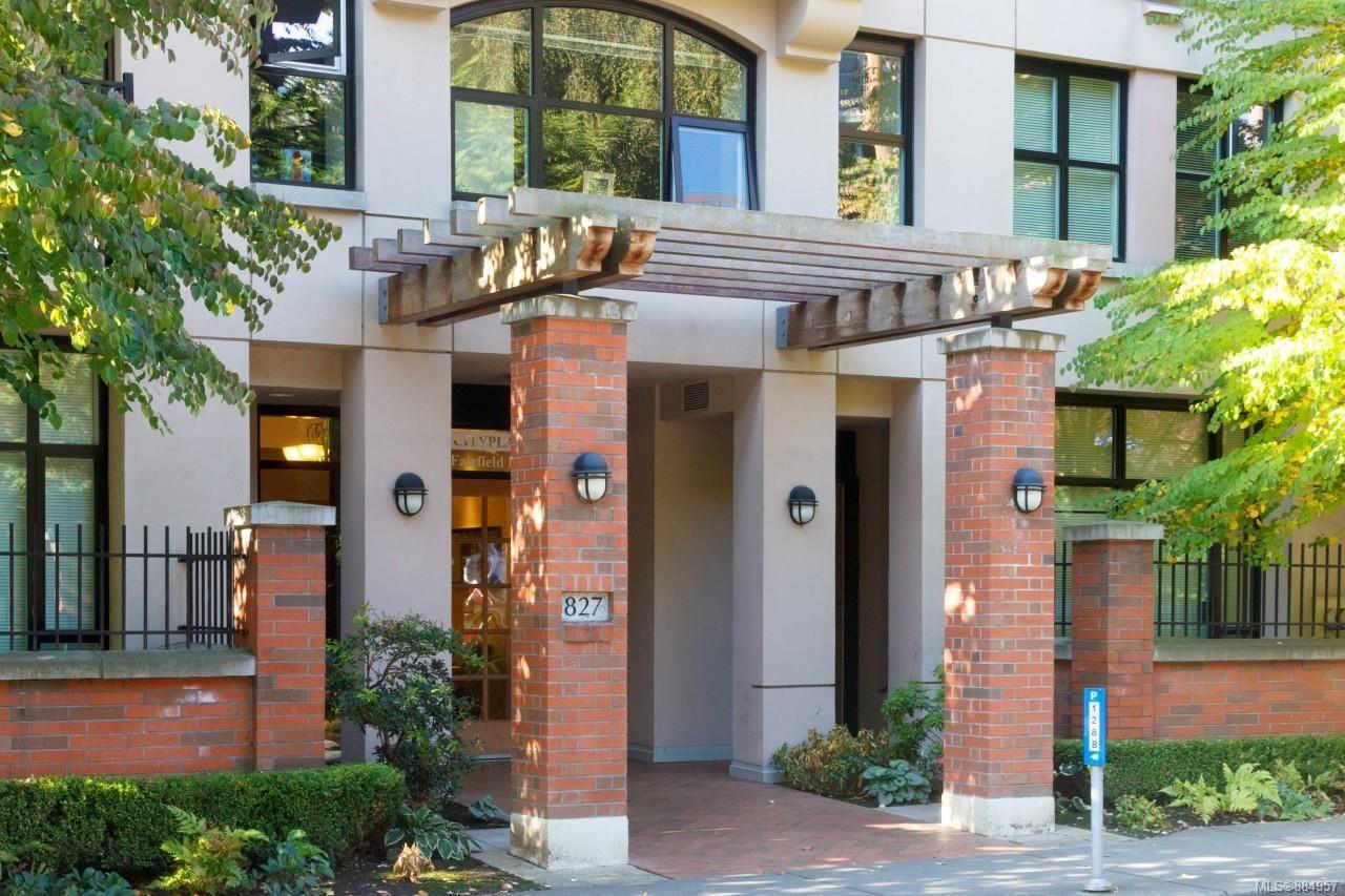 Main Photo: 505 827 Fairfield Rd in Victoria: Vi Downtown Condo for sale : MLS®# 884957