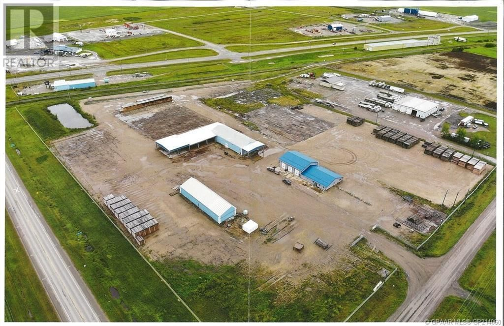Main Photo: 4601 45 Avenue in Rycroft: Industrial for lease : MLS®# GP214060