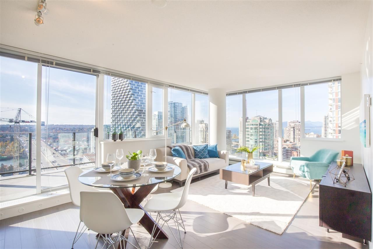 "Photo 2: Photos: 2007 1325 ROLSTON Street in Vancouver: Downtown VW Condo for sale in ""THE ROLSTON"" (Vancouver West)  : MLS®# R2417938"