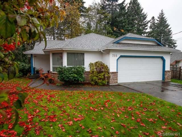 Main Photo: 755 Hobson Ave in COURTENAY: CV Courtenay East House for sale (Comox Valley)  : MLS®# 686151