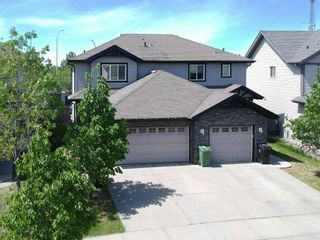 Photo 1: 64 CALVERT Wynd: Fort Saskatchewan House Half Duplex for sale : MLS®# E4247409