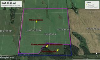 Main Photo: Range Road 365: Rural Red Deer County Commercial Land for sale : MLS®# A1131229
