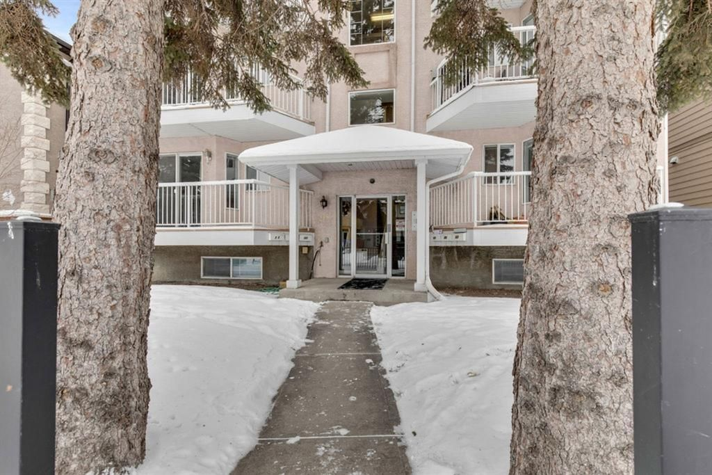 Main Photo: 302 215 17 Avenue NE in Calgary: Tuxedo Park Apartment for sale : MLS®# A1071484
