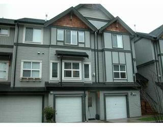 "Photo 1: 1055 RIVERWOOD Gate in Port Coquitlam: Riverwood Townhouse for sale in ""RIVERWOOD"" : MLS®# V635961"