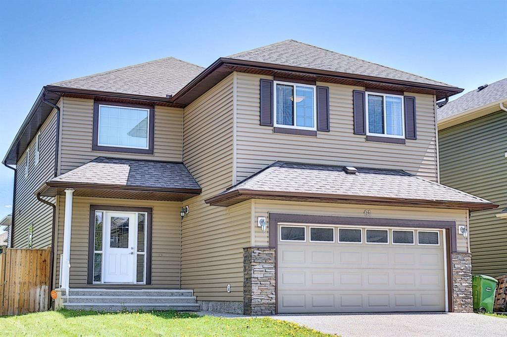 Main Photo: 61 Everhollow Green SW in Calgary: Evergreen Detached for sale : MLS®# A1115077