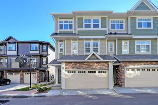 Main Photo: 119 Wentworth Row SW in Calgary: West Springs Row/Townhouse for sale : MLS®# A1155654