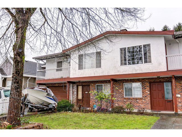 Main Photo: 7541 17TH AVENUE - LISTED BY SUTTON CENTRE REALTY in Burnaby: Edmonds BE 1/2 Duplex for sale (Burnaby East)  : MLS®# R2030562