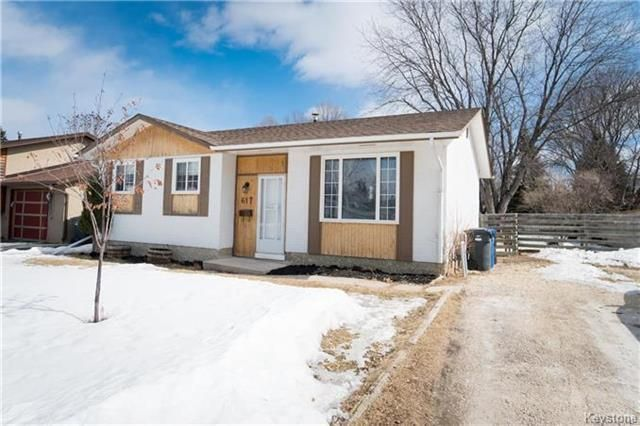 Main Photo: 617 Cathcart Street in Winnipeg: Charleswood Residential for sale (1G)  : MLS®# 1806088