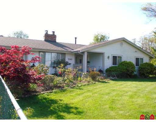Main Photo: 2145 168TH Street in Surrey: Grandview Surrey House for sale (South Surrey White Rock)  : MLS®# F2712089