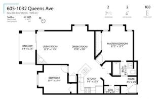 """Photo 27: 605 1032 QUEENS Avenue in New Westminster: Uptown NW Condo for sale in """"QUEENS TERRACE"""" : MLS®# R2464019"""