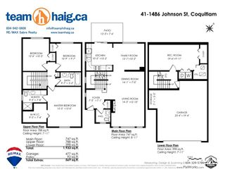 """Photo 37: 41 1486 JOHNSON Street in Coquitlam: Westwood Plateau Townhouse for sale in """"STONEY CREEK"""" : MLS®# R2551259"""