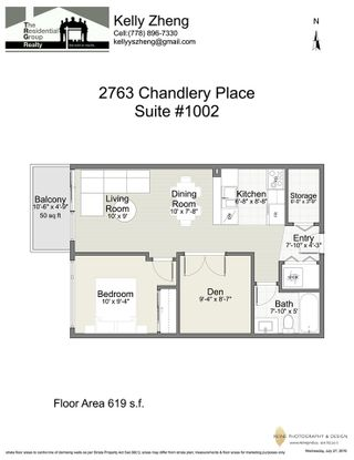 "Photo 13: 1002 2763 CHANDLERY Place in Vancouver: Fraserview VE Condo for sale in ""RIVER DANCE"" (Vancouver East)  : MLS®# R2095895"