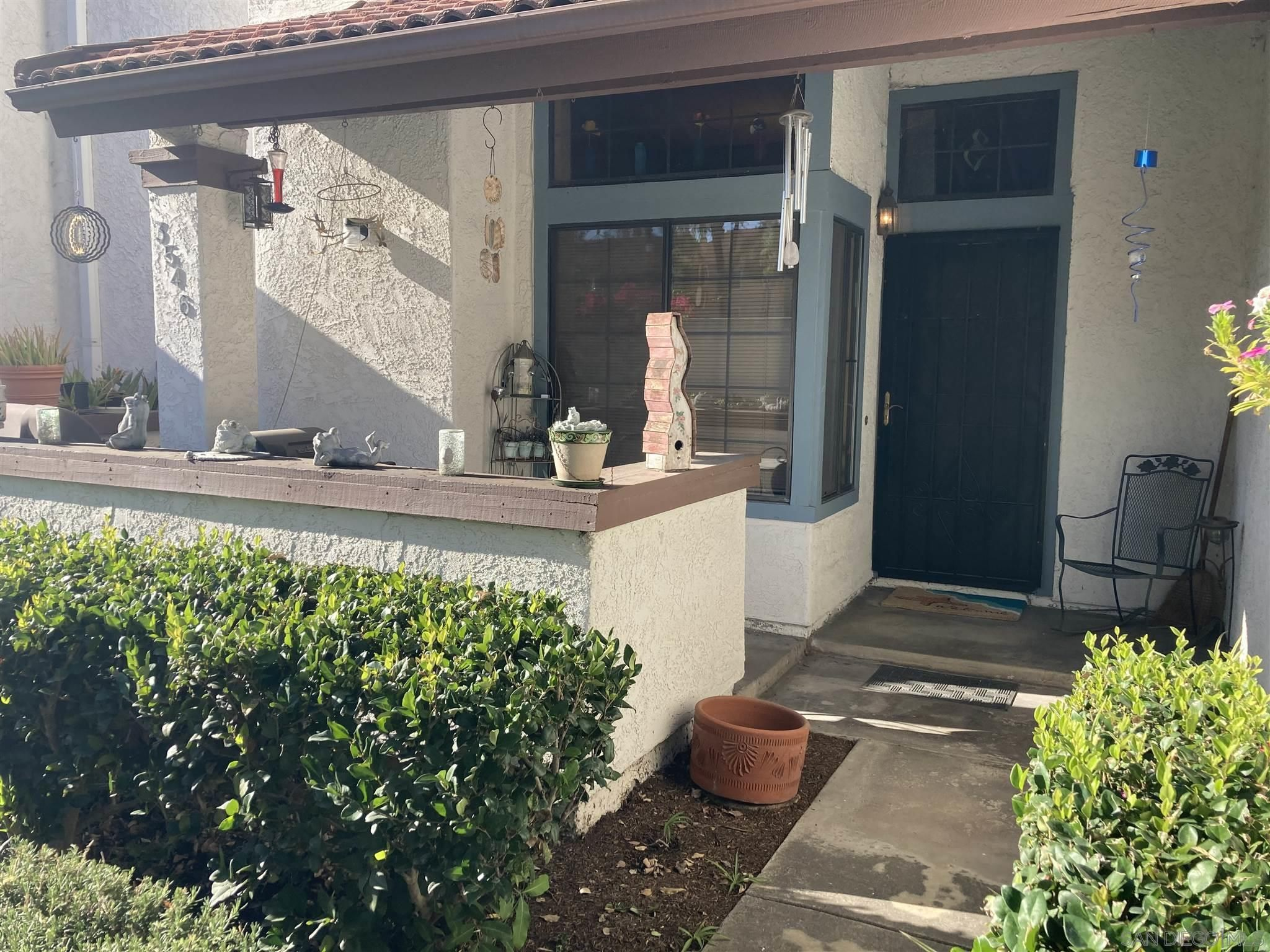 Main Photo: SAN CARLOS Townhouse for sale : 3 bedrooms : 3546 Mission Mesa Way in San Diego