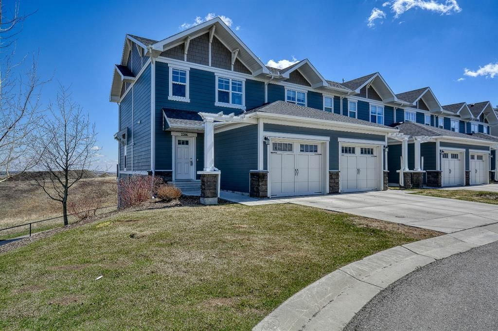 Main Photo: 2206 881 Sage Valley Boulevard NW in Calgary: Sage Hill Row/Townhouse for sale : MLS®# A1107125