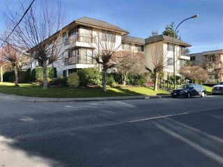 """Photo 1: 103 15317 THRIFT Avenue: White Rock Condo for sale in """"The Nottingham"""" (South Surrey White Rock)  : MLS®# R2336892"""