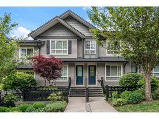 """Photo 1: 11 21867 50 Avenue in Langley: Murrayville Townhouse for sale in """"Winchester"""" : MLS®# R2582823"""