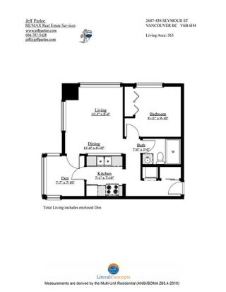 """Photo 36: 2607 438 SEYMOUR Street in Vancouver: Downtown VW Condo for sale in """"Conference Plaza"""" (Vancouver West)  : MLS®# R2574733"""