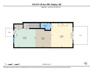 Photo 32: 310 1611 28 Avenue SW in Calgary: South Calgary Row/Townhouse for sale : MLS®# A1152190