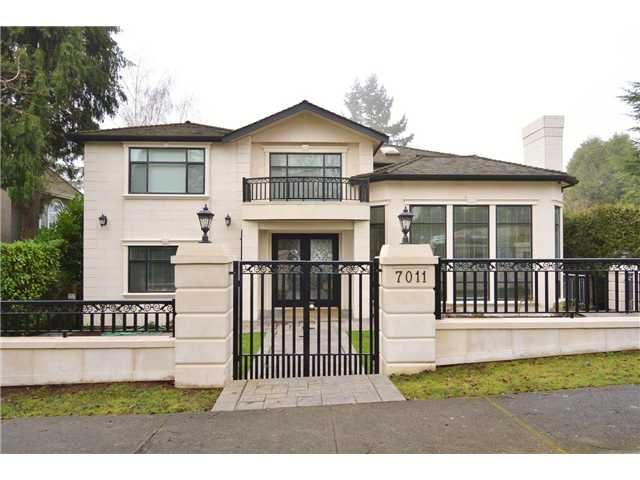 Main Photo: 7011 Adera St in Vancouver: South Granville House for sale (Vancouver West)  : MLS®# V1099185