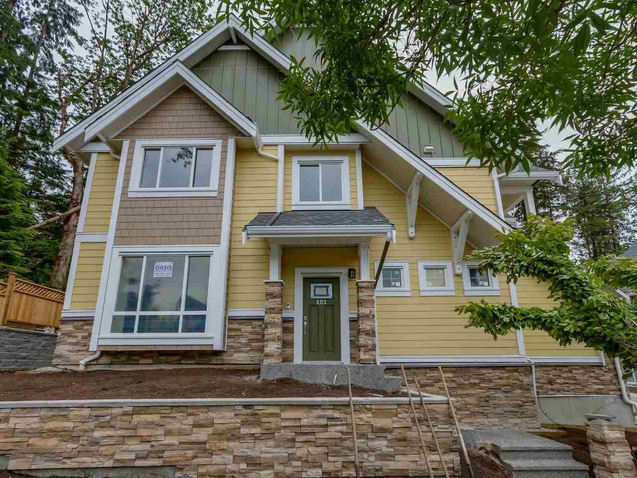 """Main Photo: 102 1405 DAYTON Street in Coquitlam: Burke Mountain Townhouse for sale in """"ERICA"""" : MLS®# R2126856"""