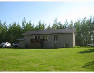 """Photo 1: 8250 JOHNSON Road in Prince_George: Pineview House for sale in """"PINEVIEW"""" (PG Rural South (Zone 78))  : MLS®# N183293"""