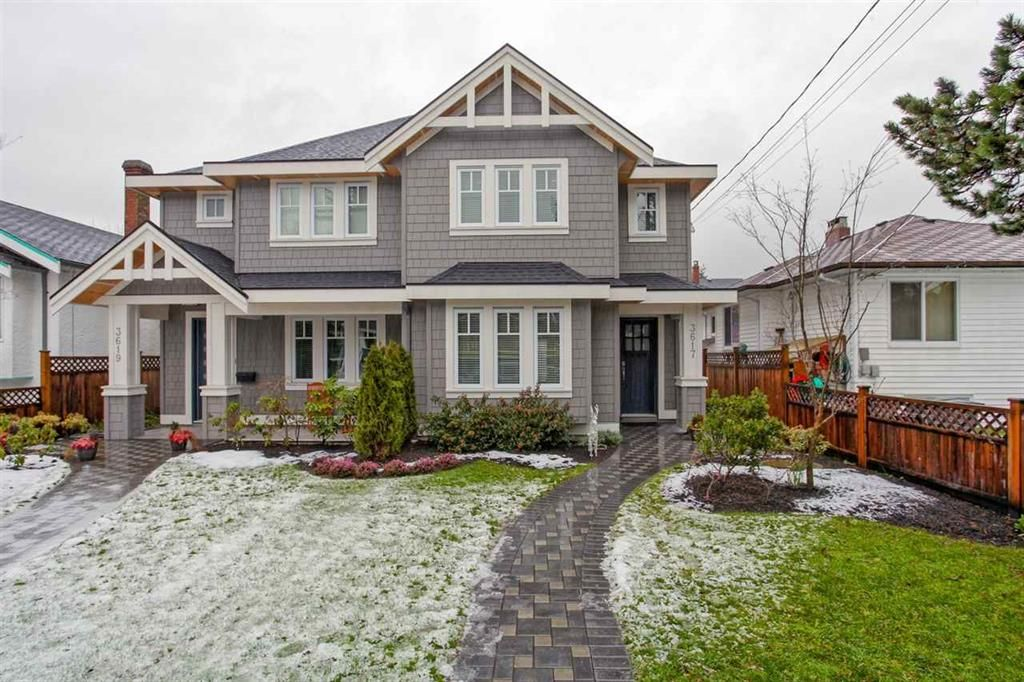 Main Photo: 3617 West 7th Avenue in Vancouver: Kitsilano 1/2 Duplex for sale (Vancouver West)