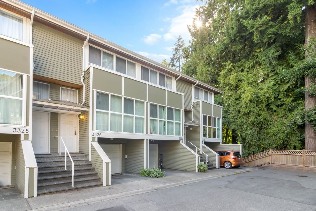 """Main Photo: 3326 COBBLESTONE Avenue in Vancouver: Champlain Heights Townhouse for sale in """"Marine Woods"""" (Vancouver East)  : MLS®# R2617467"""