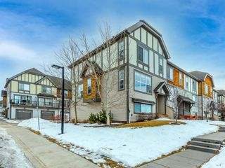 Photo 2: 144 130 New Brighton Way SE in Calgary: New Brighton Row/Townhouse for sale : MLS®# A1061476