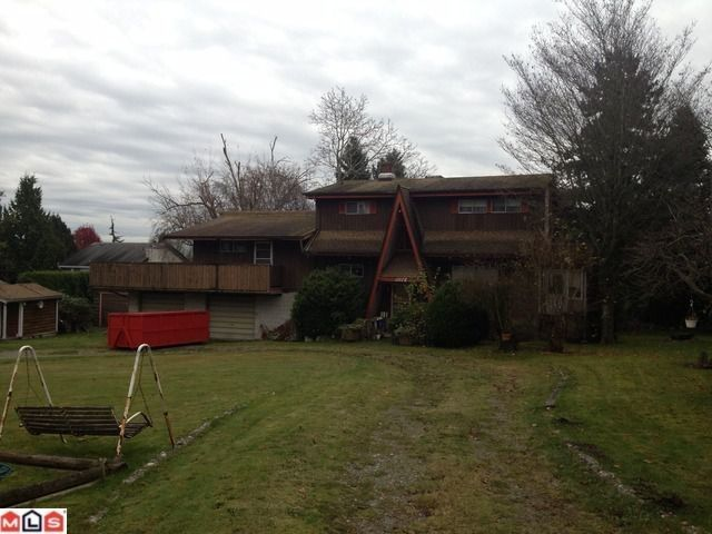 Main Photo: 1072 160TH Street in Surrey: King George Corridor House for sale (South Surrey White Rock)  : MLS®# F1227641