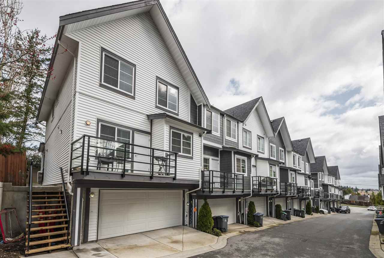 """Main Photo: 10 6767 196 Street in Surrey: Clayton Townhouse for sale in """"Clayton Creek"""" (Cloverdale)  : MLS®# R2555935"""