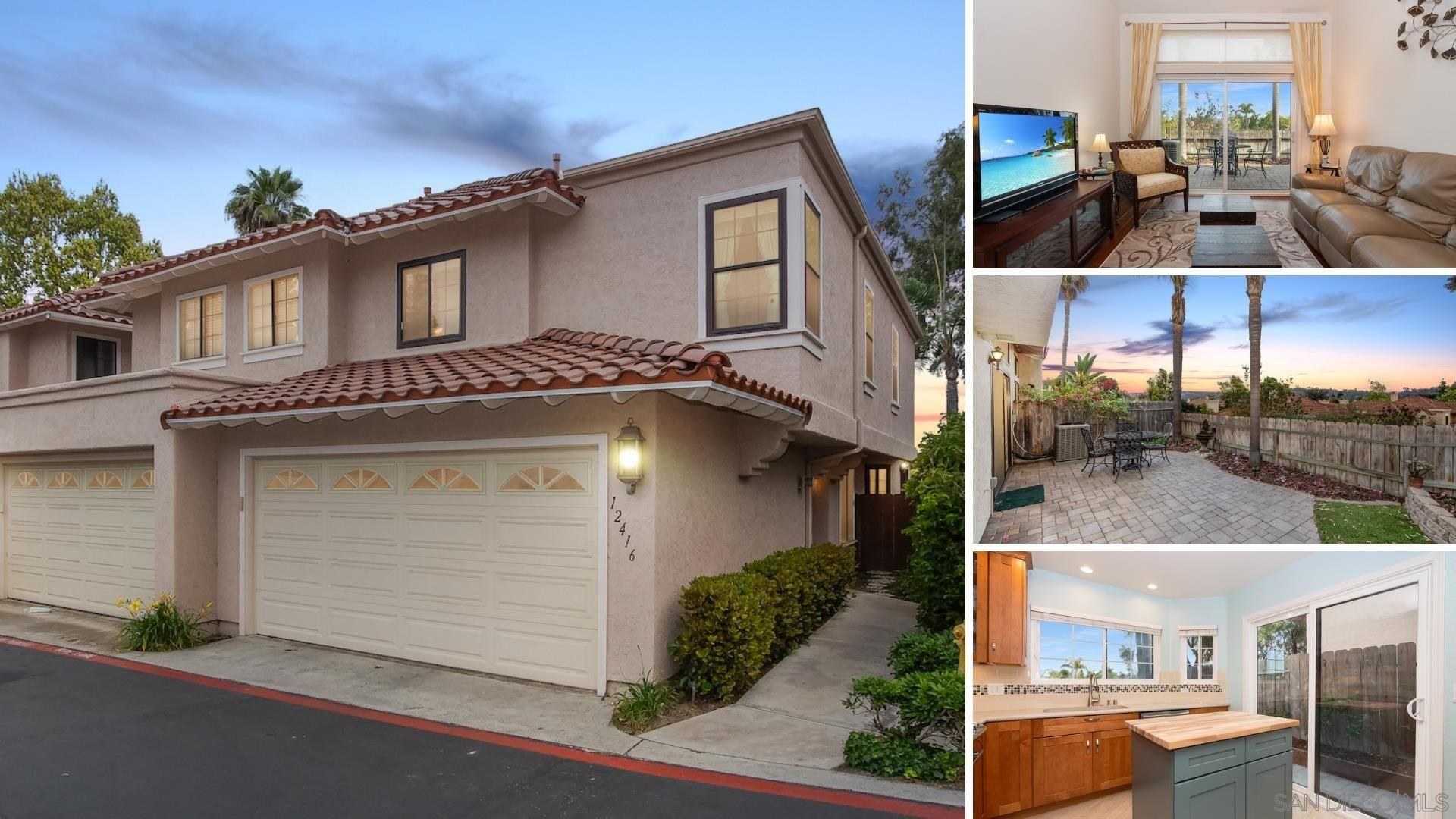 Main Photo: CARMEL VALLEY Condo for sale : 3 bedrooms : 12416 Caminito Mira Del Mar in San Diego