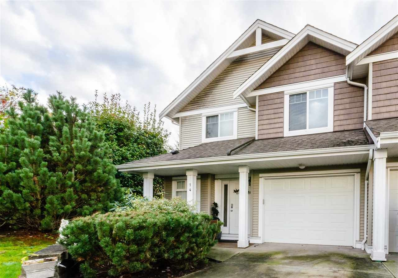 """Main Photo: 14 11255 232 Street in Maple Ridge: East Central Townhouse for sale in """"HIGHFIELD"""" : MLS®# R2124633"""