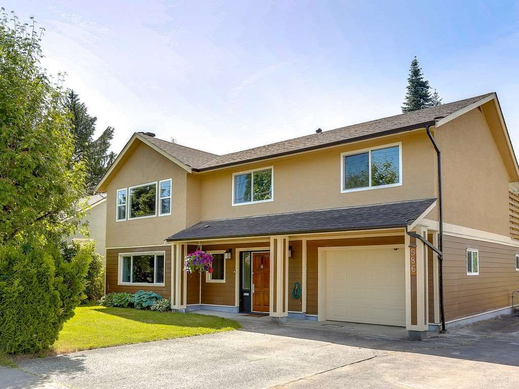 Main Photo: 586 THOMPSON Avenue in Coquitlam: Coquitlam West House for sale : MLS®# R2175059