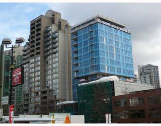 """Photo 1: 1104 1252 HORNBY Street in Vancouver: Downtown VW Condo for sale in """"PURE"""" (Vancouver West)  : MLS®# V702175"""