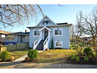 """Photo 1: 1306 E 18TH Avenue in Vancouver: Knight House for sale in """"Cedar Cottage 5-Plex"""" (Vancouver East)  : MLS®# V1095673"""