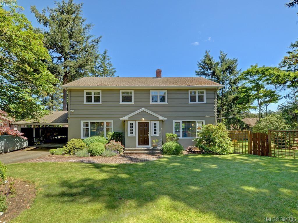 Main Photo: 4537 Tiedemann Pl in VICTORIA: SE Gordon Head House for sale (Saanich East)  : MLS®# 791348