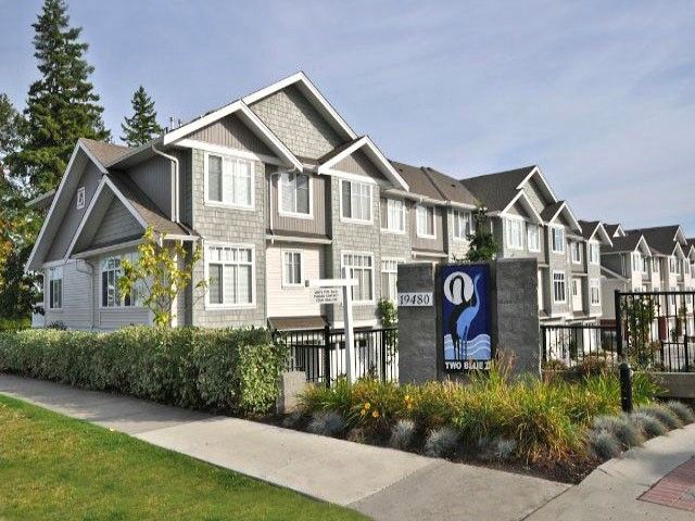 """Main Photo: 58 19480 66TH Avenue in Surrey: Clayton Townhouse for sale in """"Two Blue II"""" (Cloverdale)  : MLS®# F1430452"""