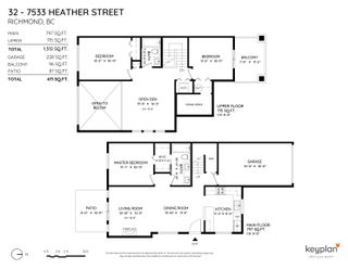 Photo 26: 32 7533 HEATHER Street in Richmond: McLennan North Townhouse for sale : MLS®# R2618026