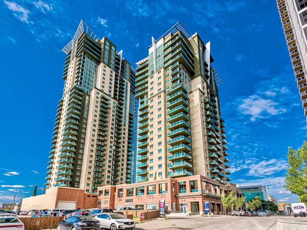 Main Photo: 1602 1410 1 Street SE in Calgary: Beltline Apartment for sale : MLS®# A1144144