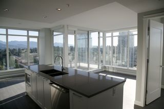 "Photo 1: 2107 520 COMO LAKE Avenue in Coquitlam: Coquitlam West Condo for sale in ""THE CROWN"" : MLS®# R2206369"