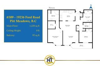 "Photo 18: 309 19236 FORD Road in Pitt Meadows: Central Meadows Condo for sale in ""EMERALD PARK"" : MLS®# R2542374"