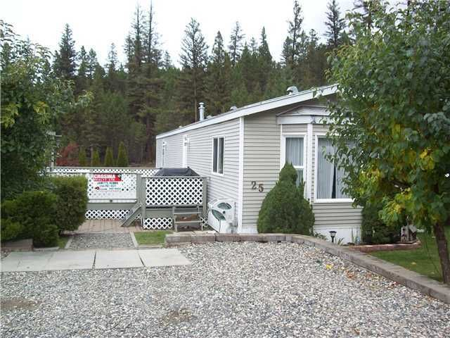 Main Photo: 25 997 20 Highway in Williams Lake: Esler/Dog Creek Manufactured Home for sale (Williams Lake (Zone 27))  : MLS®# N206501