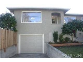 Photo 1:  in VICTORIA: Vi Fairfield West Half Duplex for sale (Victoria)  : MLS®# 457903
