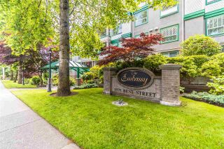 """Photo 1: 311 1575 BEST Street: White Rock Condo for sale in """"The Embassy"""" (South Surrey White Rock)  : MLS®# R2591761"""