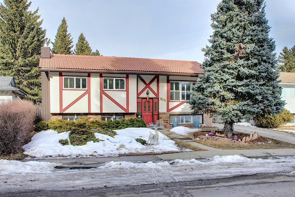 Main Photo: 515 Cedarille Crescent SW in Calgary: Cedarbrae Detached for sale : MLS®# A1083905