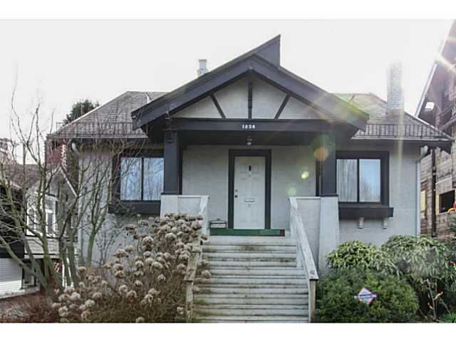 Main Photo: 1826 W 12TH Avenue in Vancouver: Kitsilano House for sale (Vancouver West)  : MLS®# V1106697